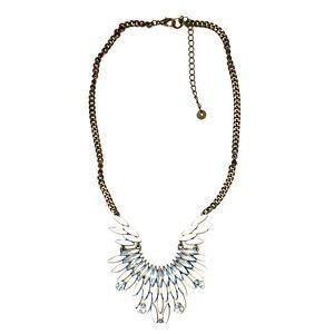 🌸 Loft necklace funky, Rock n roll angel wings